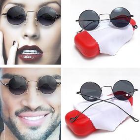 202f616cc8 Oculos Redondo John Lennon Lente Colorida De Sol - Óculos no Mercado ...