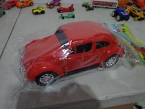 Miniatura Fusca Antigo 22 Cm De Plastico O Melhor!!