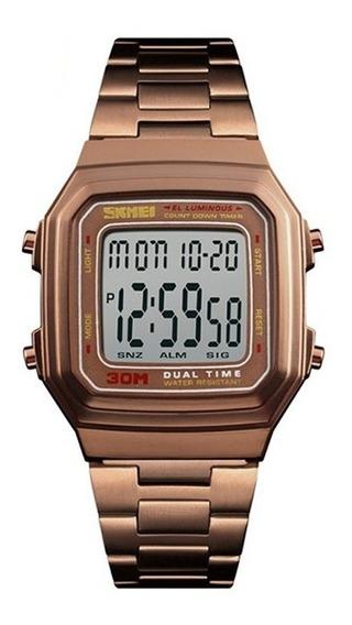 Relógio Unissex Skmei 1337 C/ Garantia E Nf