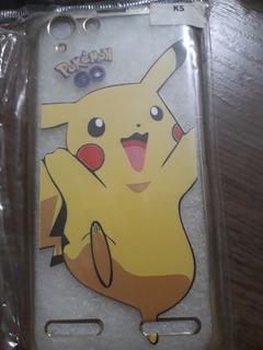 Kit Com 3 Capinhas Celular K5 Lenovo - Pokémon Barato
