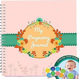 Embarazo Diario Y El Bebe Libro De Memorias Con Pegatinas Re