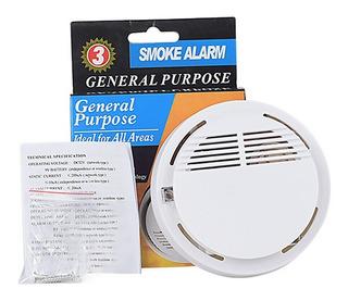 Sensor Detector De Humo Inalámbrico Con Alarma 85db