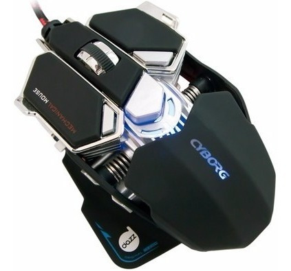 Mouse Gamer Mecânico Dazz Cyborg 4000 Dpi - 622462 + Nfe