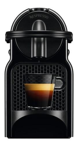 Imagen 1 de 3 de Cafetera Nespresso Inissia D40 automática negra para cápsulas monodosis 220V