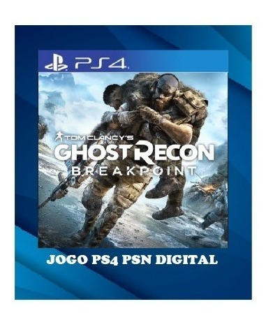Ghost Recon Breakpoint Ps4 1 Psn Português