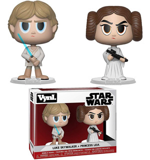 Funko Vynl: Star Wars - Princess Leia & Luke Skywalker