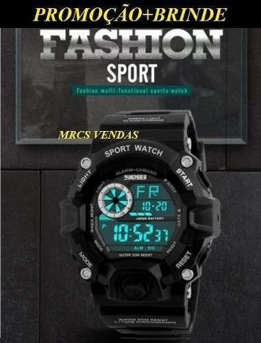 Relógio Masculino Sport Skmei Digital+brinde-envio Imediato