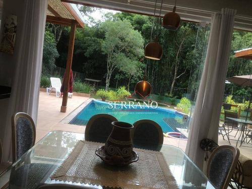 Chácara Com 2 Dormitórios À Venda, 1600 M² Por R$ 1.250.000,00 - Pinheirinho - Vinhedo/sp - Ch0030