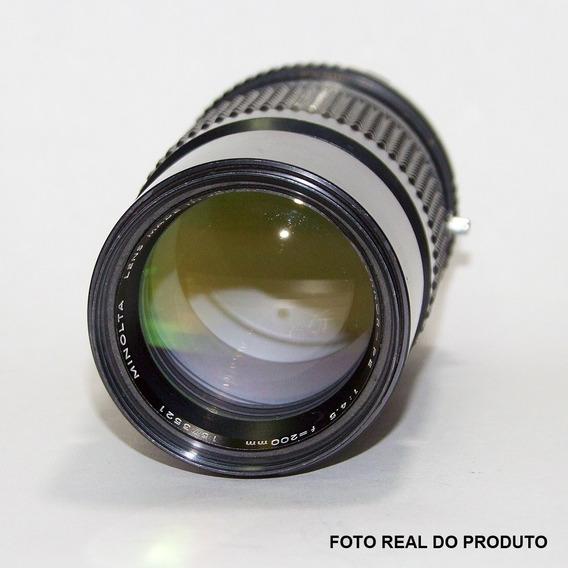 Lente Minolta 200mm F/4.5