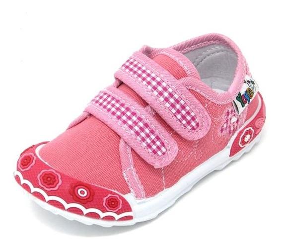 Zapatos Niñas Yoyo L9030 Rosado Oscuro 19-24. Envío Gratis