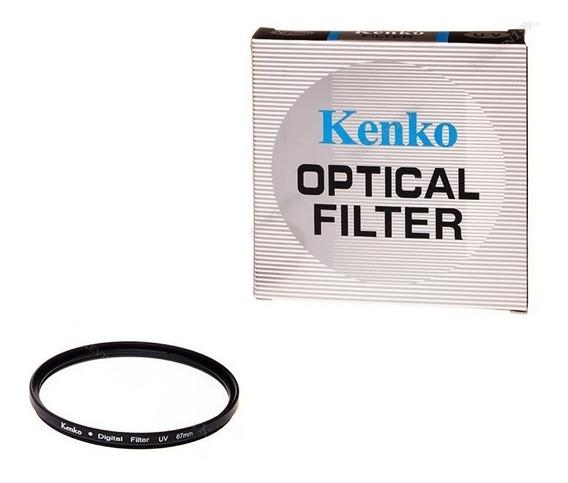 Filtro Uv 67mm Kenko Sinônimo De Qualidade