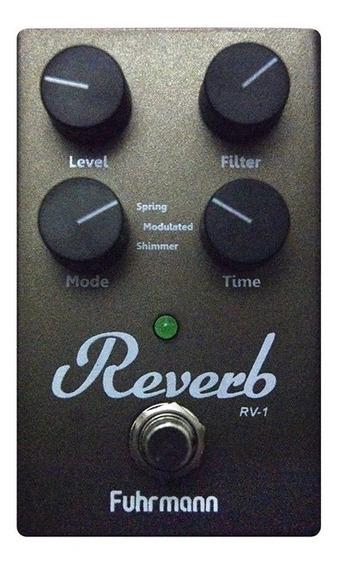 Pedal De Guitarra Fuhrmann Rv 01 Reverb Rv01