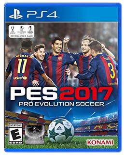 Ps4 Pro Evolution Soccer 2017 Standard E