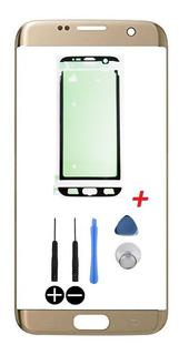 Tela Vidro Visor Galaxy S7 Edge Sm G935 Adesivo Cola 3m Novo