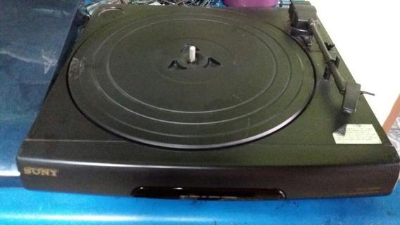 Toca Disco Sony Ps-lx46br Falta Agulha