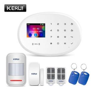 Alarma Casa Wifi Kerui W20 2in Pantalla Tft Kit Stock