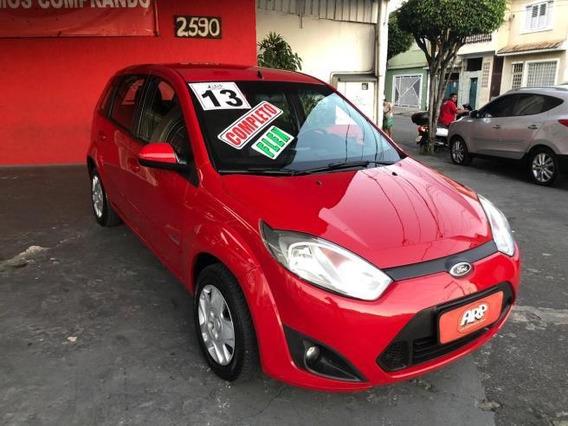 Ford Fiesta Hatch 1.6 Completo Vermelho 2013