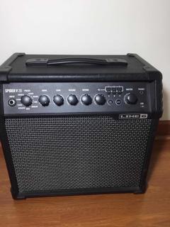 Amplificador De Guitarra Spider Line 6 V20, Impecable!