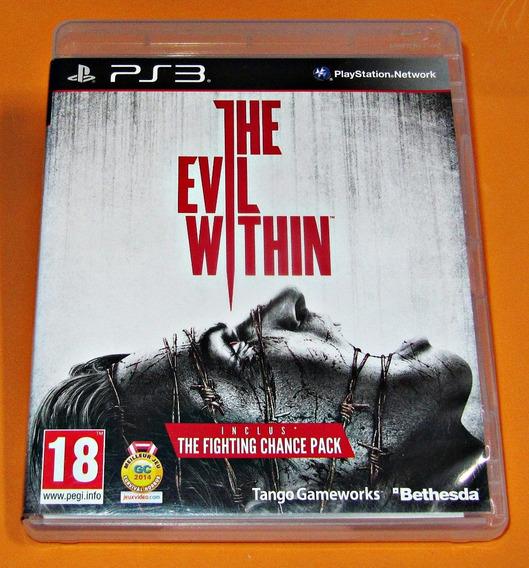 The Evil Within - Ps3 - Versão Européia - Seminovo