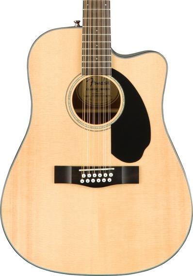Guitarra Electroacústica Fender Cd-60sce De 12 Cuerdas