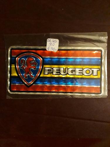 Calco Autoadhesivo Tornasolado. Peugeot