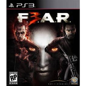 Jogo Mídia Física Fear 3 Europeu Original Para Ps3 Pal