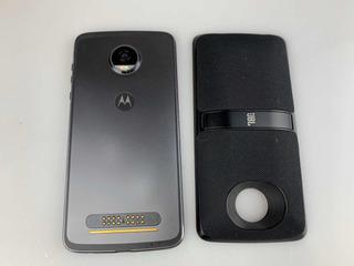 Celular Moto Z2 Play Y Bocina Motomod Jbl