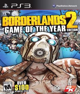 Borderlands 2 Ps3 Ultimate Edition + Todos Los Dlcs Español Digital Tenelo Hoy!!