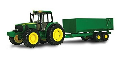 Ertl John Deere Big Farm Tractor Con Carro