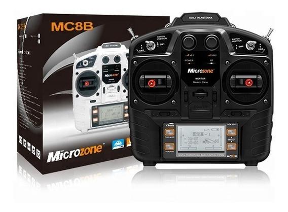 Radio Control Rc Microzone 8ch + Simulador Rc De Regalo!!!!