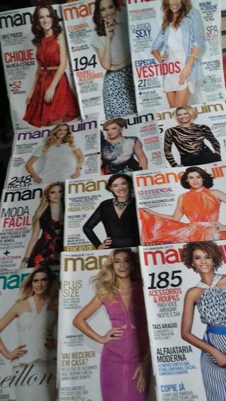 Manequins 2014/ 12 Exemplares/frete Grátis