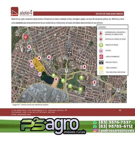 Imagem 1 de 12 de Área À Venda, 61200 M² Por R$ 7.500.000 - - Bairro Jardim Veneza - João Pessoa/pb - Ar0020