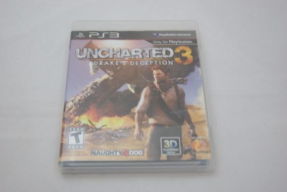 Jogo Ps3 - Uncharted 3