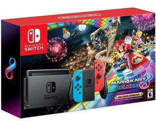 Consola Nintendo Switch Mario Kart 8 Edicion Especial Msi
