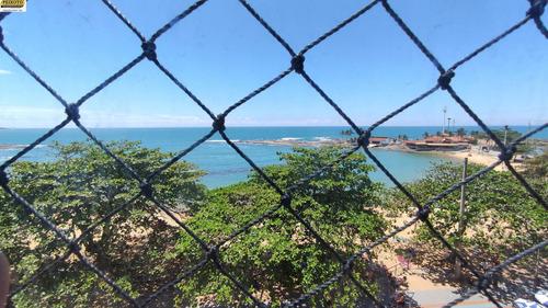 Imagem 1 de 18 de Apartamento Bem Localizado, Com Vista Para A Praia Das Castanheiras, No Centro De Guarapari - Ap01219 - 69212572