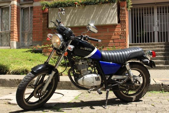 Vendo Suzuki Gn 125 Azul-negro