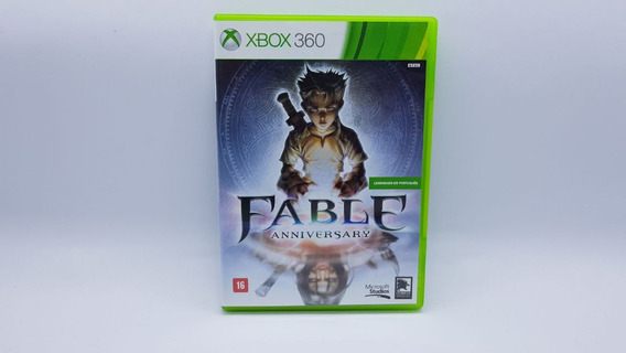 Fable Aniversary - Xbox 360 - Midia Fisica Em Cd