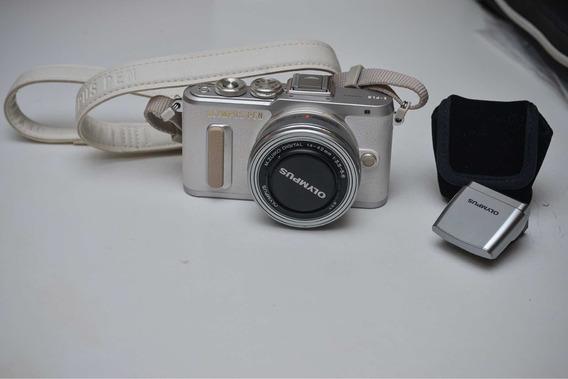 Câmera Olympus Pen Pl-8 Não É Sony, Canon