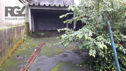 Terreno À Venda, 450 M² Por R$ 490.000 - Vila Santa Rosa - Cubatão/sp - Te0110