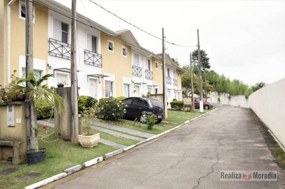 Casa Em Condomínio, 02 Dormitórios Com Armários, 72 M² Por R$ 290.000 - Granja Viana - Sp - Ca1284