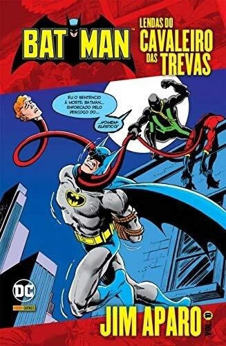 Batman: Lendas Do Cavaleiro Das Trevas-volume 10-jim Aparo