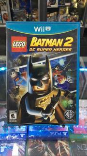 Lego Batman 2 Dc Super Heroes Wii U - Fisico - Usado