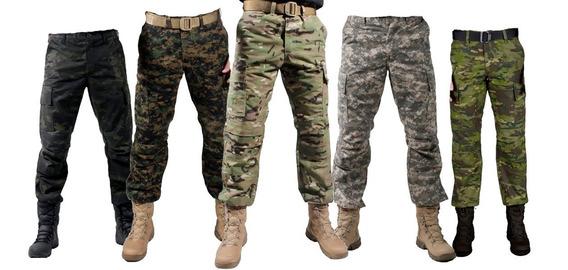 Calça Camuflada Militar Combat Diversas Cores - Bélica