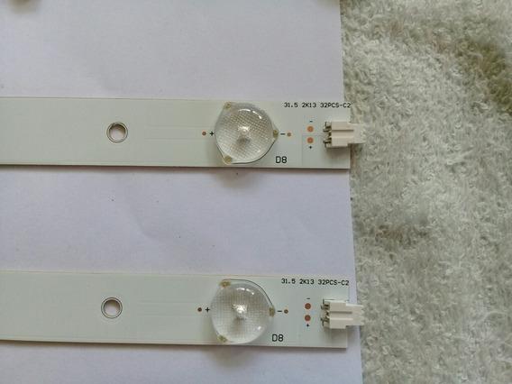 Kit Barras De Leds Philips 32pfl3008 Original