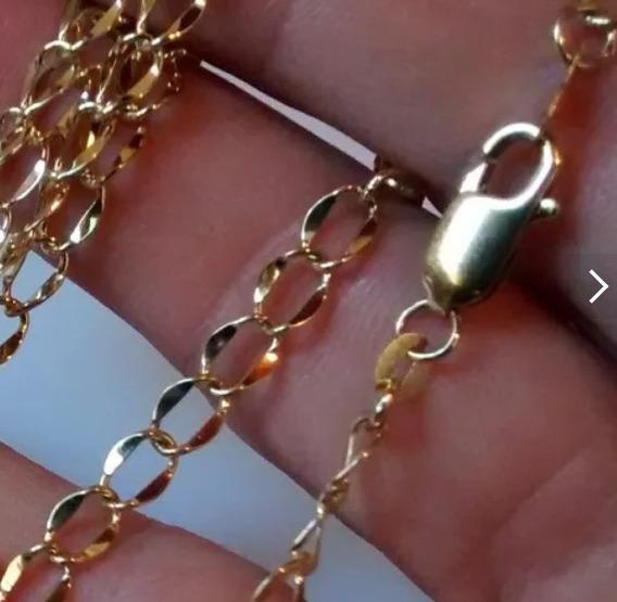 Corrente Cordão Figaro Ouro 18k / 750 - 27.2g - 55cm