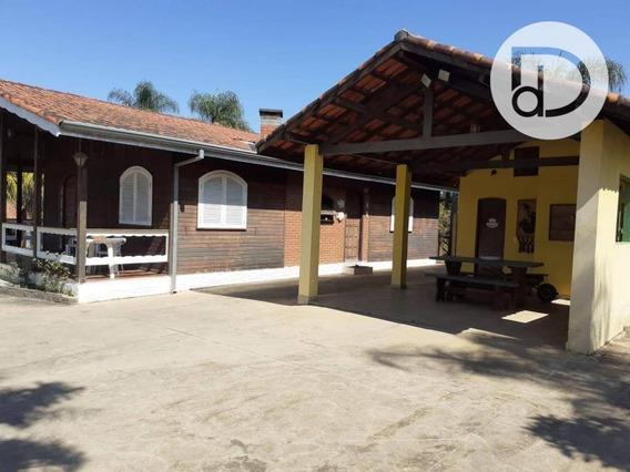 Chácara Com 3 Dormitórios À Venda, 5000 M² Por R$ 490.000 - Arataba - Louveira/sp - Ch0167