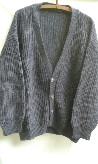 Cardigan Hombre Lana Talle Xxl Impecable!!
