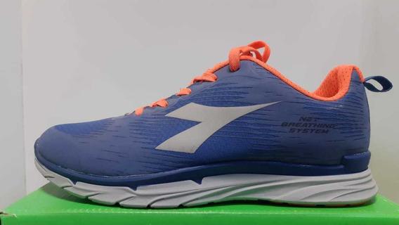 Zapatillas Diadora Nj 303 Hombre Azul Running