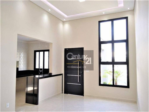 Imagem 1 de 28 de Casa À Venda, 112 M² Por R$ 680.000,00 - Condomínio Park Real - Indaiatuba/sp - Ca0952