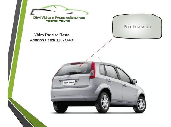 Vidro Vigia Ford Fiesta Amazon Desembaçador Hatch